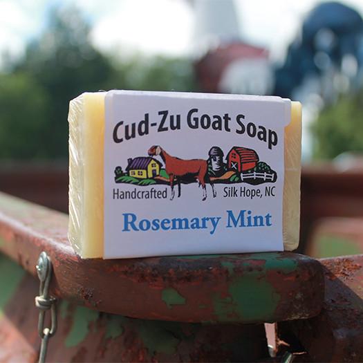 Cu-Zu Goat Soap - Rosemary Mint