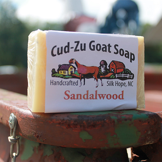 Cud-Zu Goat Soap - Sandalwood