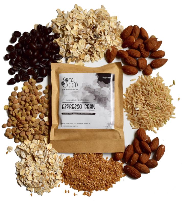 Small Seed Bars - Espresso Bean