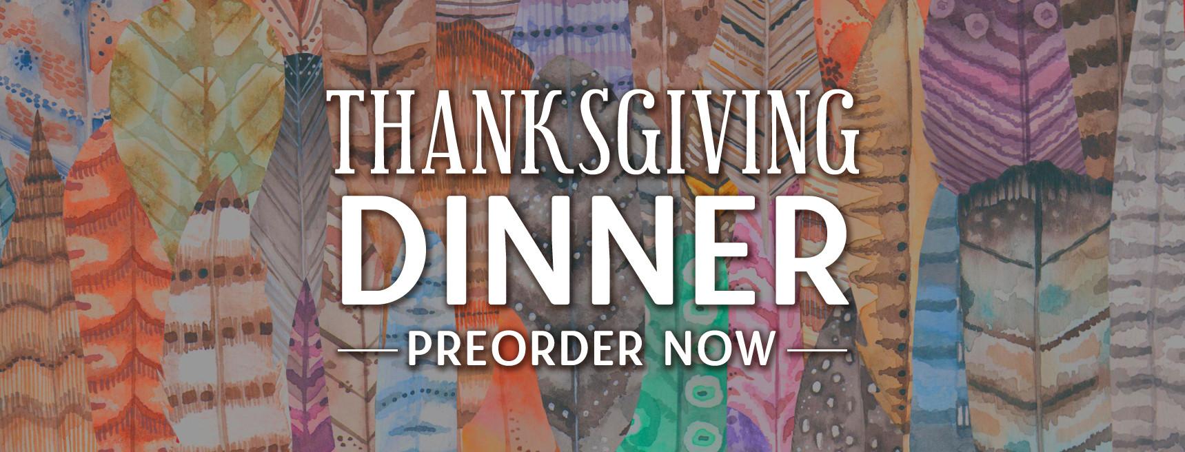 Preorder Thanksgiving Turkeys & Fixins