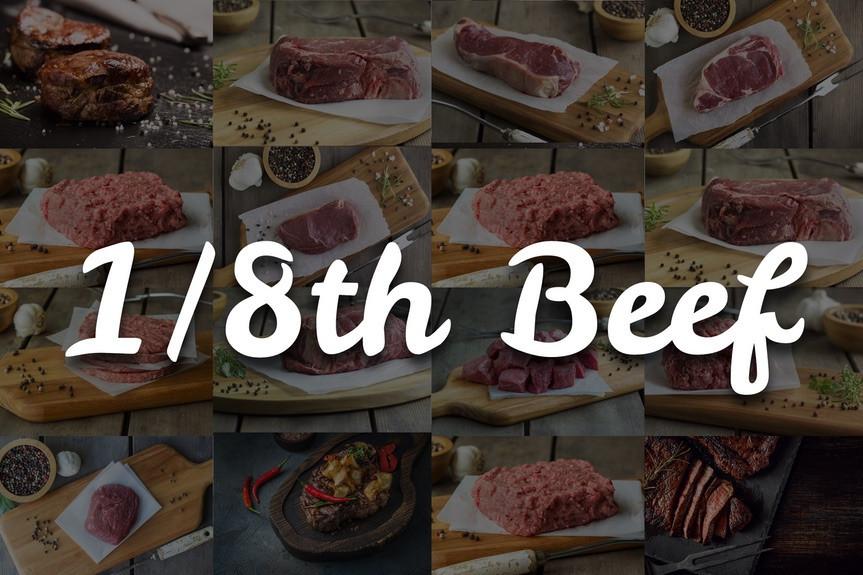 1/8 Devon beef