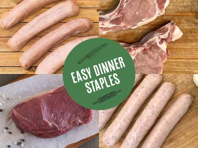 Easy Dinner Staples - Pork & Beef