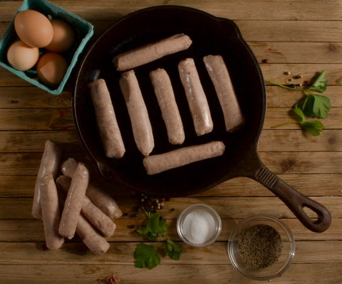 Pork Breakfast Link Sausage - Pinkie Links