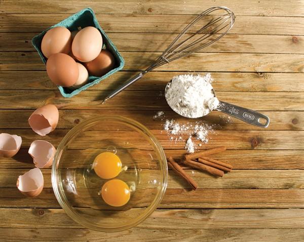 1.5 dozen eggs