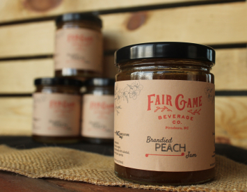 Brandied Peach Jam