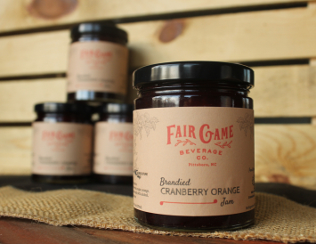 Brandied Cranberry Orange Jam
