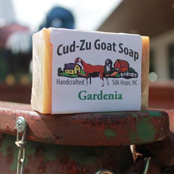 Cud-Zu Goat Soap - Gardenia