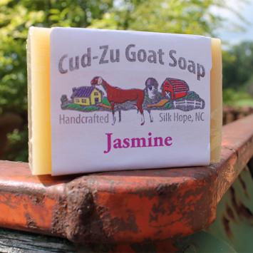 Cu-Zu Goat Soap - Jasmine
