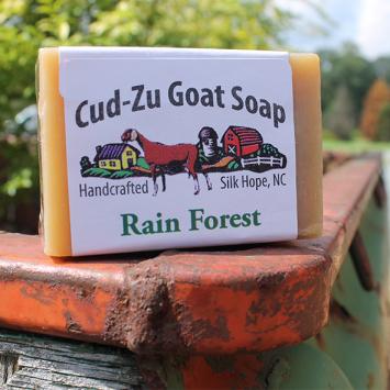 Cu-Zu Goat Soap - Rain Forest