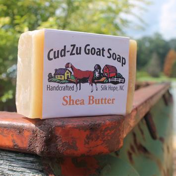 Cu-Zu Goat Soap - Shea Butter