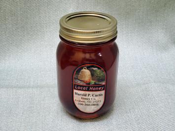 Honey - Harold P. Curtis Honey Co., 1 Pint