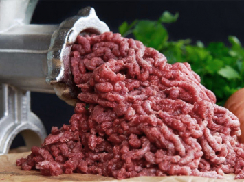 All ground beef — bulk package