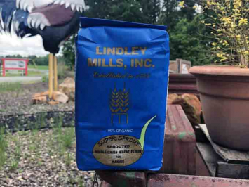 Lindley Mills Sprouted Whole Grain Wheat Flour