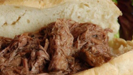 Slow Cooked Italian Beef