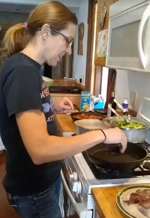 Cooking the ultimate grass-fed steak with Jen