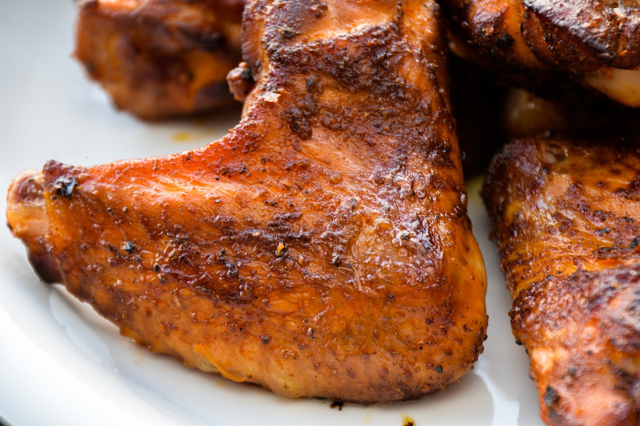Crispy Turkey (or Chicken) Wings
