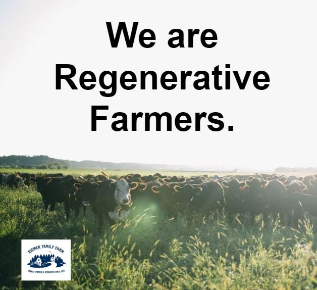 We are Regenerative Farmers