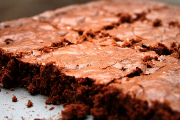 Fudgy Lard Brownies