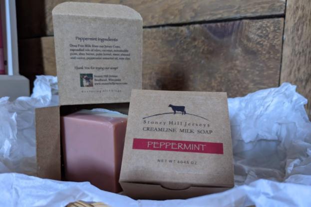 Creamline Milk Soap - Peppermint