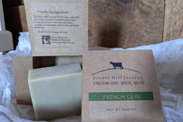 Creamline Milk Soap - French Clay