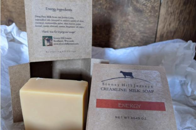 Creamline Milk Soap - Energy