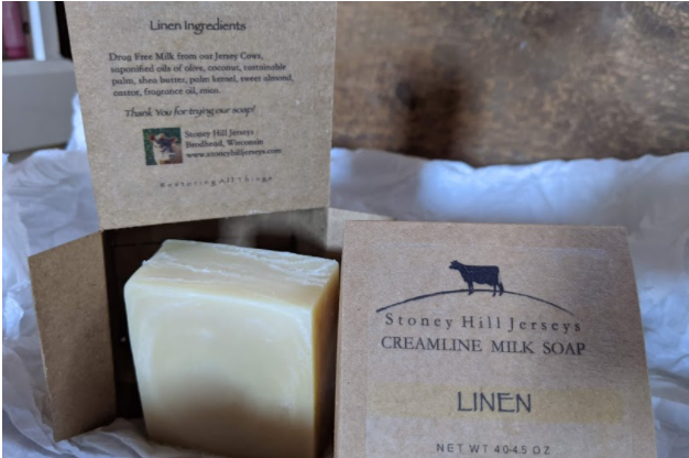 Creamline Milk Soap - Linen