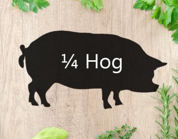 1/4 Hog