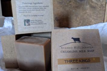 Creamline Milk Soap - Three Kings