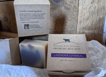 Creamline Milk Soap - Lavender Oatmeal