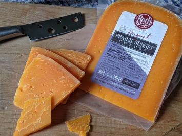 Prairie Sunset Cheese Wedge