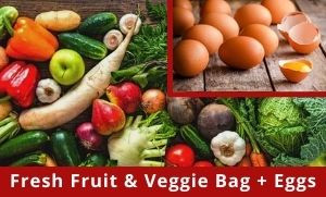 Fruit & Veggie Bag + EGGS