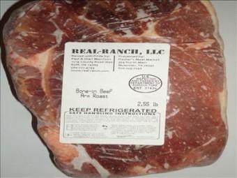 Beef Arm Roast Bone In