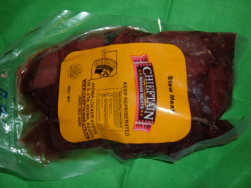Grass Fed Stew Meat 1.5#