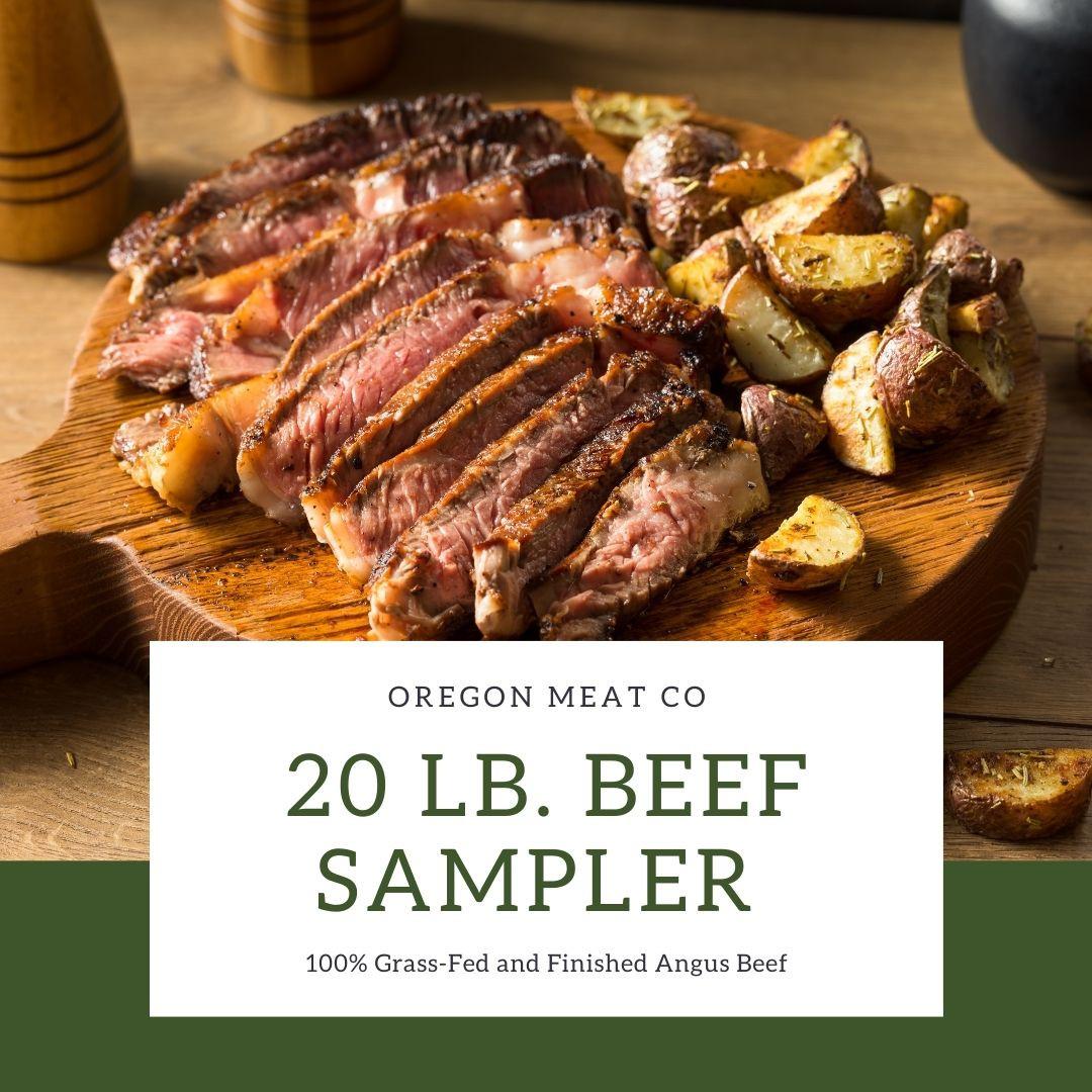 20lb Beef Sampler