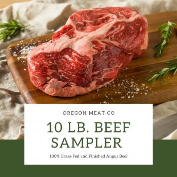 10 lb Beef Sampler