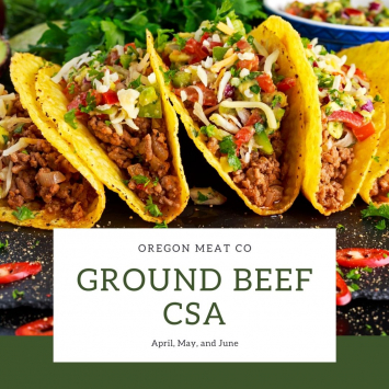Spring Ground Beef CSA - Full Share