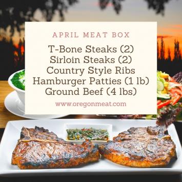 April Meat Box