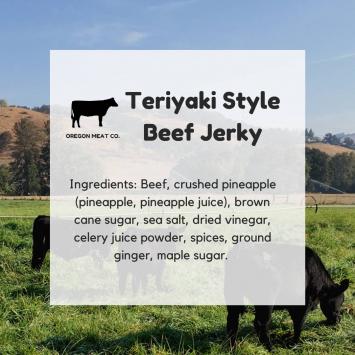 Beef Jerky - Teriyaki Style