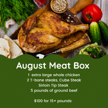 August Meat Box