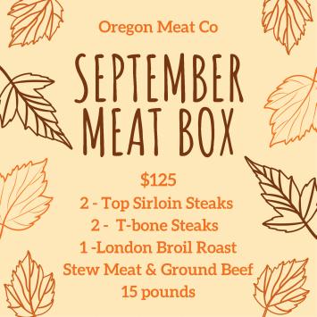 September Meat Box
