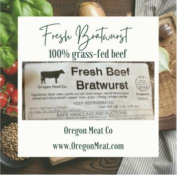 Sausage - Fresh Bratwurst (Beef)