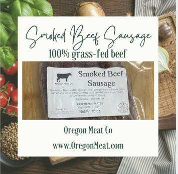 Sausage - Smoked Beef