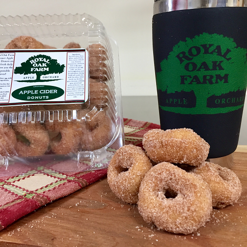 Apple Cider Donuts - Mini Donuts