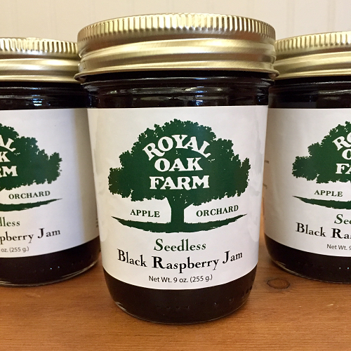 Jam - Seedless Black Raspberry