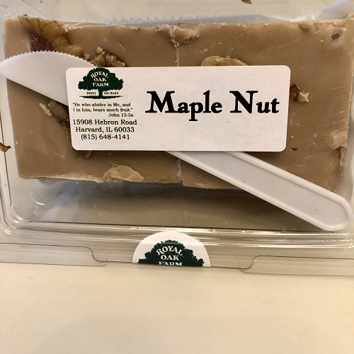 Fudge - Maple Nut (2 piece package)