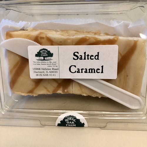 Fudge - Salted Caramel (2 piece package)