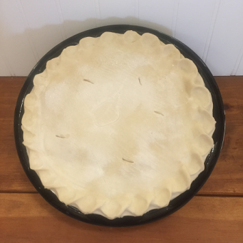Frozen Natural Apple Pie - Large