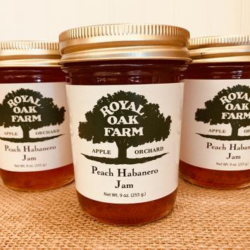 Jam - Peach Habanero Jam