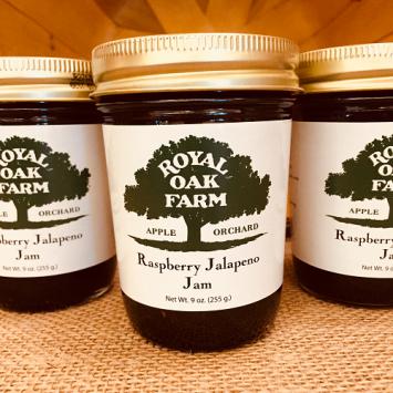 Jam - Raspberry Jalapeno Jam