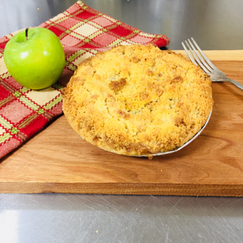 Baked Apple Crumb Pie - Small
